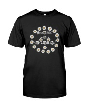 Flower Child With A Rock N Roll Soul Classic T-Shirt front