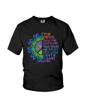 The Devil Saw Me With My Head Down Youth T-Shirt thumbnail