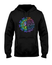 The Devil Saw Me With My Head Down Hooded Sweatshirt front