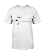 The Answer My Friend Is Blowin' In The Wind Classic T-Shirt front