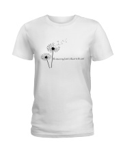 The Answer My Friend Is Blowin' In The Wind Ladies T-Shirt thumbnail