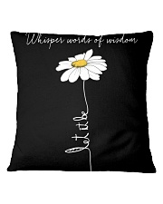 Whisper Words Of Wisdom 2 Square Pillowcase thumbnail