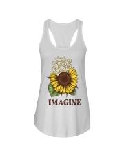 Imagine Flowers Hippie Ladies Flowy Tank tile