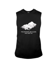 The Mountains Are Calling Sleeveless Tee thumbnail