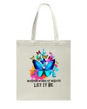 Whisper Words Of Wisdom Tote Bag thumbnail