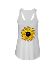 Peace Love Yourself Ladies Flowy Tank thumbnail
