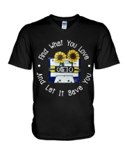 Find What You Love V-Neck T-Shirt thumbnail