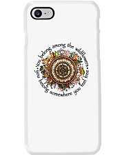 You Belong Among The Wildflowers Phone Case tile