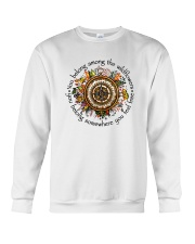 You Belong Among The Wildflowers Crewneck Sweatshirt tile