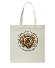 You Belong Among The Wildflowers Tote Bag tile
