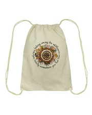 You Belong Among The Wildflowers Drawstring Bag tile