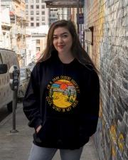 On A Dark Desert Highway Hooded Sweatshirt lifestyle-unisex-hoodie-front-1