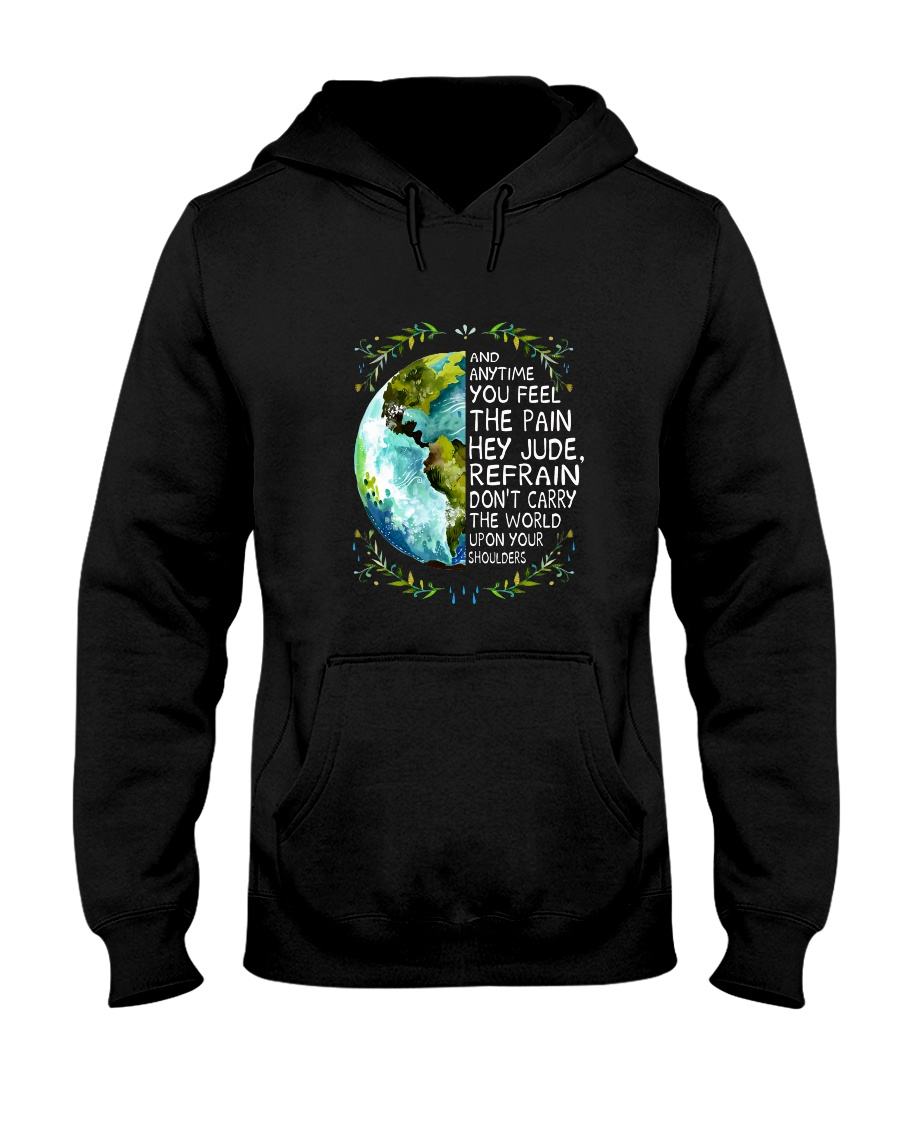Anytime You Feel The Pain Hooded Sweatshirt