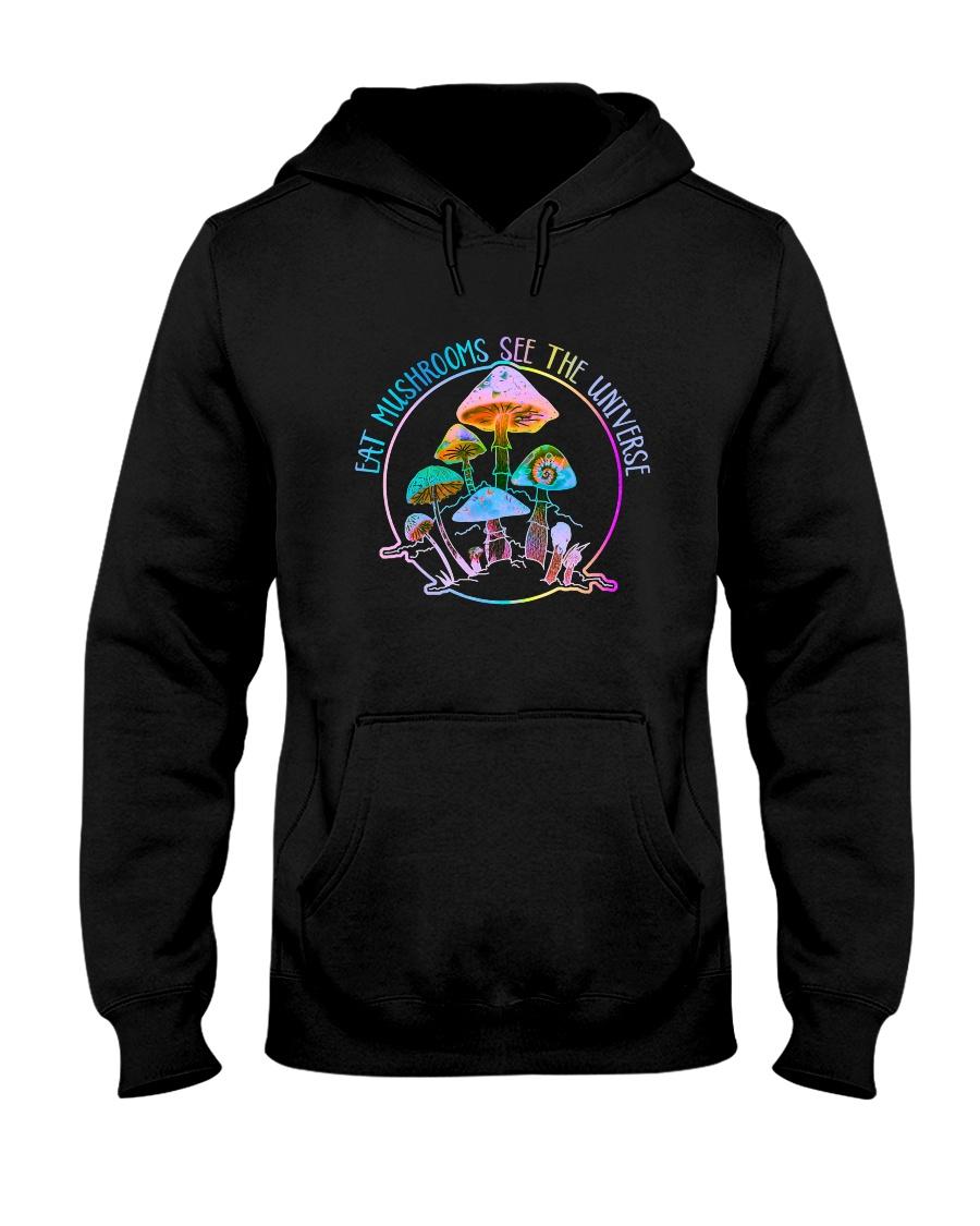 Eat Mushrooms Hooded Sweatshirt