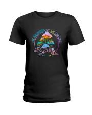 Eat Mushrooms Ladies T-Shirt thumbnail