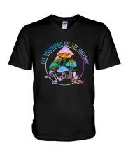 Eat Mushrooms V-Neck T-Shirt thumbnail
