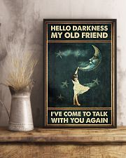 Hello Darkness 11x17 Poster lifestyle-poster-3