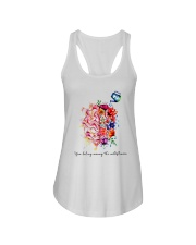 You Belong Among The Wildflowers Ladies Flowy Tank thumbnail