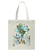 Teach Peace Tote Bag thumbnail