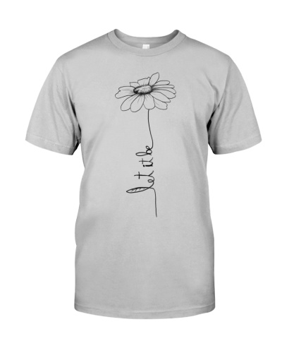 Let It Be Flower Hippie Music