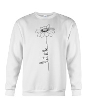 Let It Be Flower Hippie Music  Crewneck Sweatshirt thumbnail