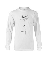 Let It Be Flower Hippie Music  Long Sleeve Tee thumbnail