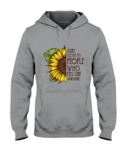 Stay Close To People Hooded Sweatshirt thumbnail