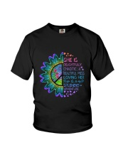 She Is Delightfully Chaotic Youth T-Shirt thumbnail