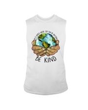 Be Kind In A World Sleeveless Tee thumbnail