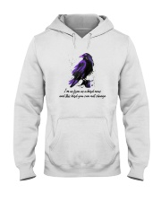 I Am As Freedom As A Bird 10 Hooded Sweatshirt front