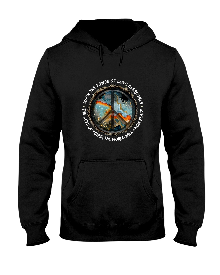 The Power Of Love Hooded Sweatshirt