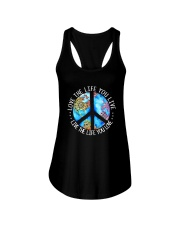 Love The Life Hippie Ladies Flowy Tank tile