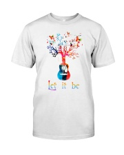 Let It Be Peace Classic T-Shirt front