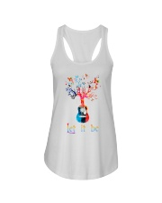 Let It Be Peace Ladies Flowy Tank thumbnail