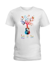 Let It Be Peace Ladies T-Shirt thumbnail