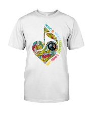 Music Is What Feeling Sound Like Classic T-Shirt front