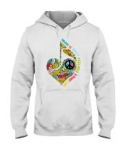 Music Is What Feeling Sound Like Hooded Sweatshirt thumbnail