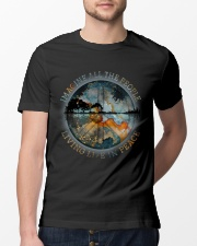 People Living Life In Peace Classic T-Shirt lifestyle-mens-crewneck-front-13