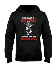 Believe In Rock And Roll Hooded Sweatshirt thumbnail