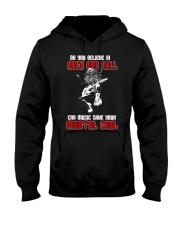 Believe In Rock And Roll Hooded Sweatshirt tile