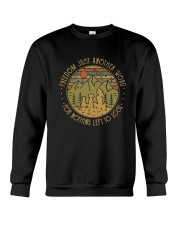 Freedom Is Just Another World Crewneck Sweatshirt thumbnail
