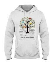 There Are Places I Remember Hooded Sweatshirt front
