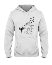 Anyway The Wind Blows Hooded Sweatshirt front