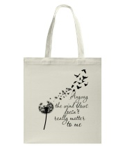 Anyway The Wind Blows Tote Bag thumbnail