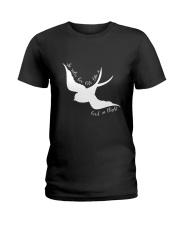 She Rules Her Life Like A Bird Ladies T-Shirt thumbnail