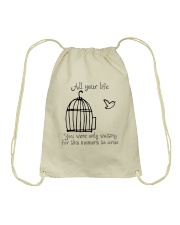 All Your Life Drawstring Bag thumbnail