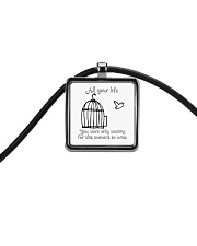 All Your Life Cord Rectangle Necklace thumbnail