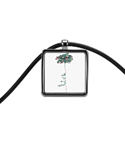 Let It Be Cord Rectangle Necklace tile