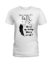 My Darling What If You Fly Ladies T-Shirt thumbnail
