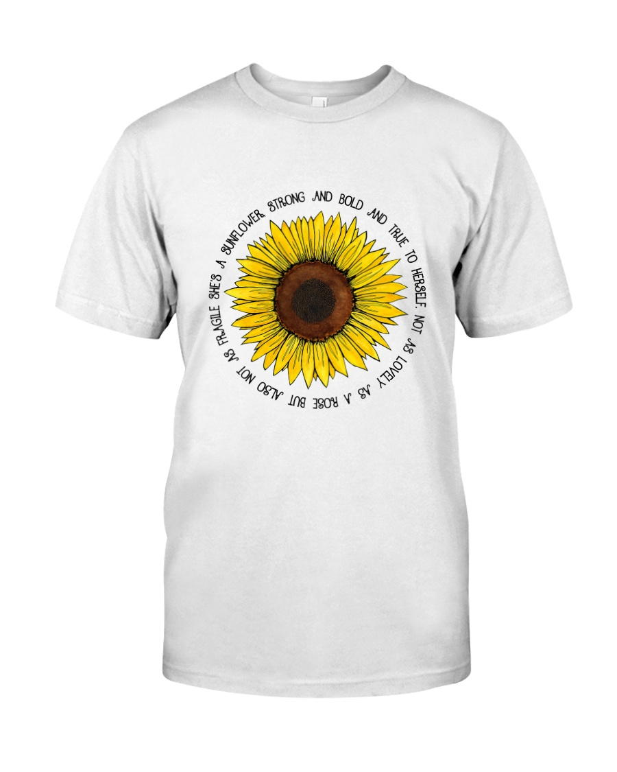She Is A Sunflower 1 Classic T-Shirt